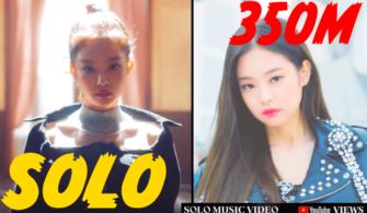 Jennie SOLO Şarkısı 350M gösterimle Youtube Rekoru Kırdı