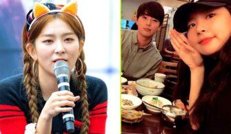 Red Velvet'ten Seulgi, Fotoğraf Çekerken İnsanların Yüzünü Korumak İçin Süper Sevimli Bir Yol Kullandı