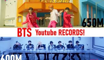 """BTS Performs on Youtube with """"Boy With Luv"""" and """"MIC Drop""""!"""