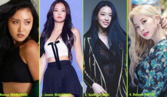 Kore En Popüler 30 Kız İdolü -Aralık 2019