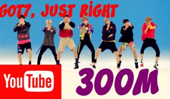 Just Right Part of GOT7 is Group's First MV to Reach 300 Million Views