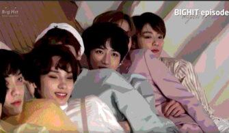 Big_Hit-BTS-TXT-Lee Hyun Bond-Ailesi-Fotoğraf-Çekimi-Sahne-Arkası-Görüntüleri