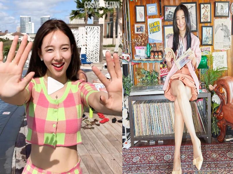 k pop ekose ve pastel modası