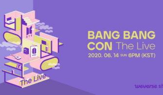 bts bang bang con live