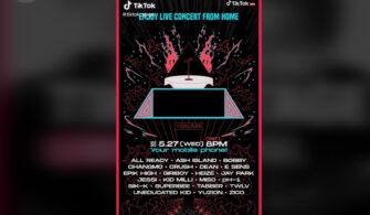 """iKON's Bobby, Block B's Zico, Jay Park ve daha fazlası """"TikTok Stage"""" Online K-Pop Konserinde Sizi bekliyor!"""