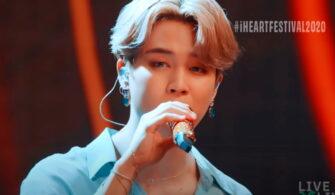 jimin blue earrings