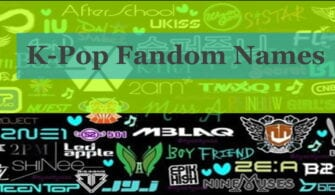 k-pop fandom names