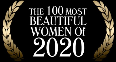 100 Most Beautiful Women of 2020