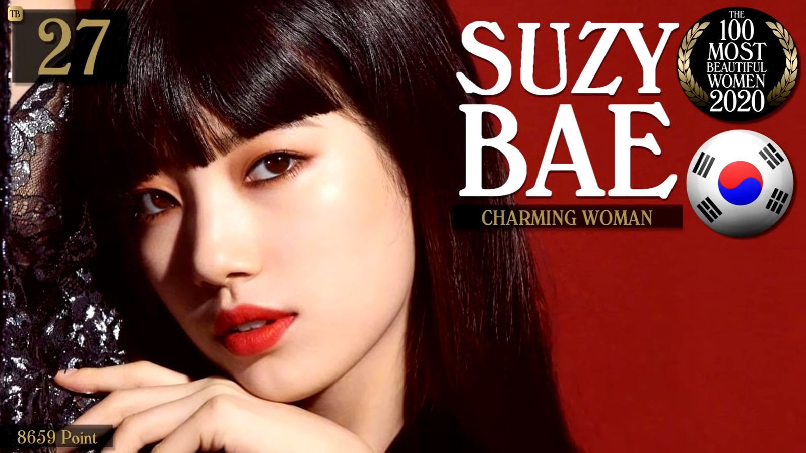 Suzy - The 100 Most Beautiful Women Of 2020