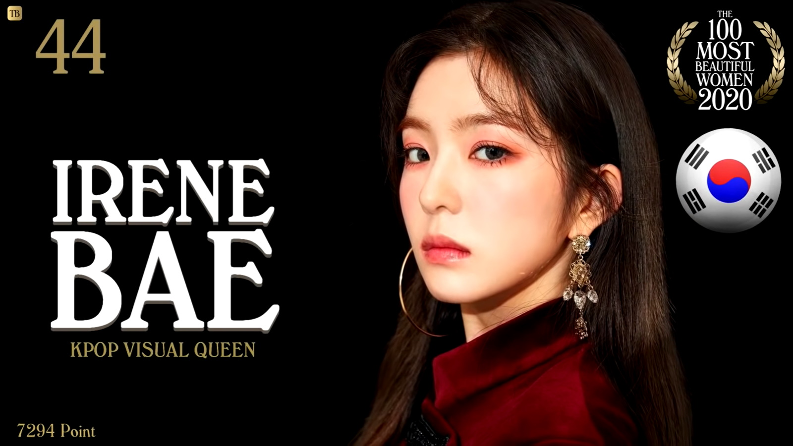 IRENE - The 100 Most Beautiful Women Of 2020