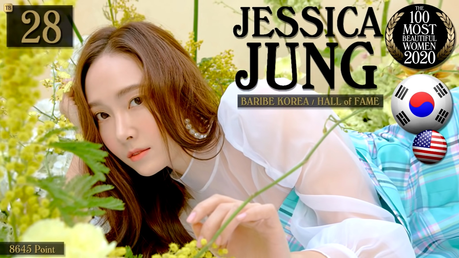 Jessica Sooyoun Jung - The 100 Most Beautiful Women Of 2020