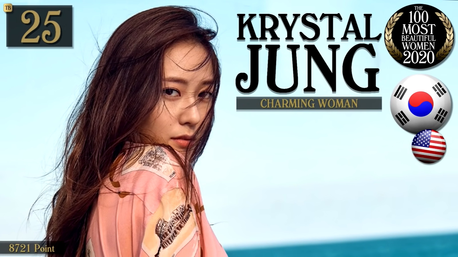 Krystal Jung - The 100 Most Beautiful Women Of 2020