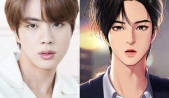 bts jin true beauty suho