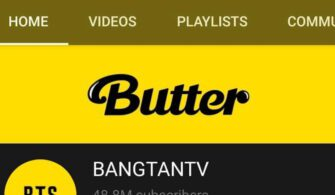 bts butter bangtan tv