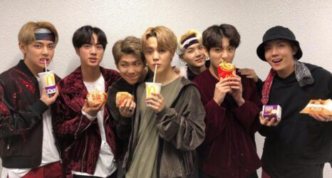 bts mc donalds