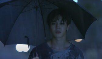 bts jimin rain umbrella